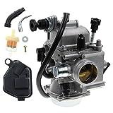 AUTOKAY New Carburetor for Honda 350 Rancher TRX350TE TRX350TM ATV 350 2000 2001 2002 2003 2004 2005 2006