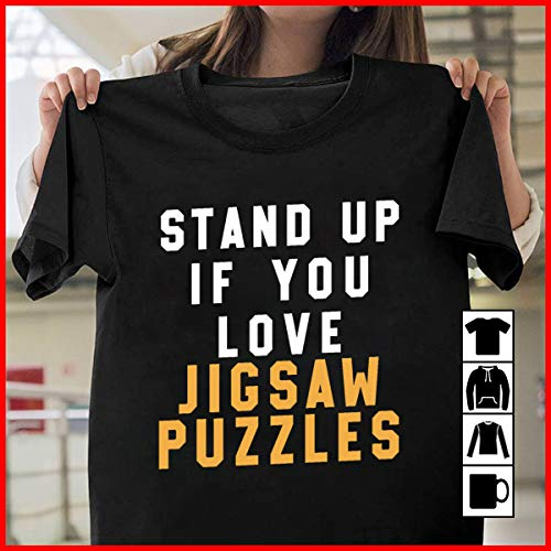 (Puzzles Jigsaw Puzzles T-shirt Day Without Puzzle Funny stnd up T Shirt Long Sleeve Sweatshirt Hoodie Youth)