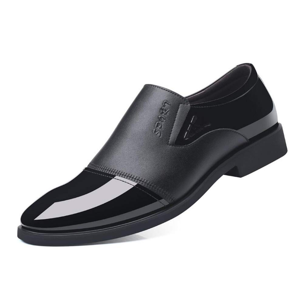 a864f0246bcc Amazon.com: YaXuan Formal Mens Shoe, Spring Fall Leather,Slip-ons ...