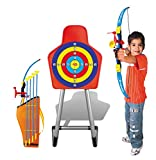 kids archery target - Liberty Imports Sport Archery Set With Target and Stand