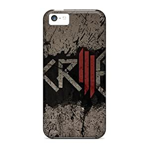New Cute Funny Skrillex Dubstep Wallpaper Case Cover/ Iphone 5c Cases Covers