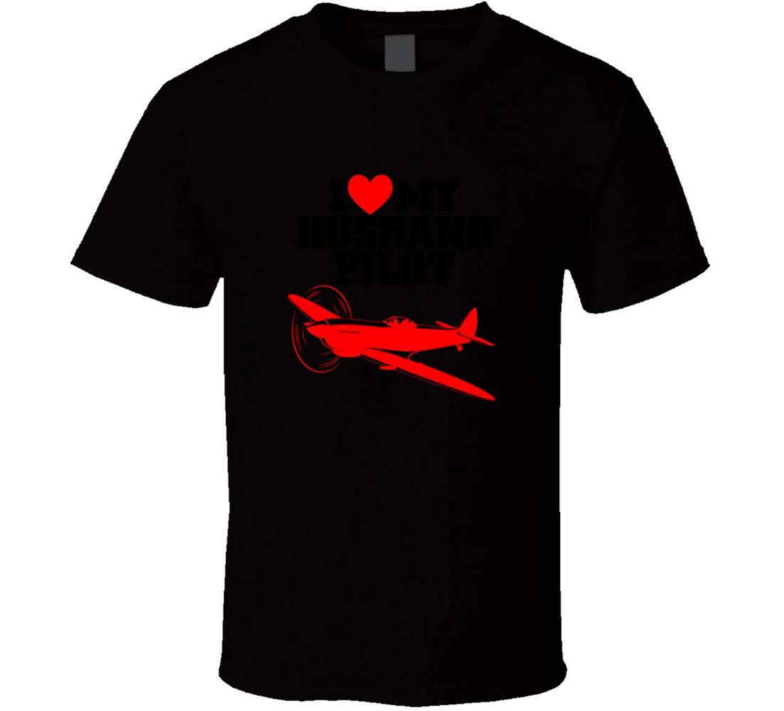 Husband Pilot T Shirt