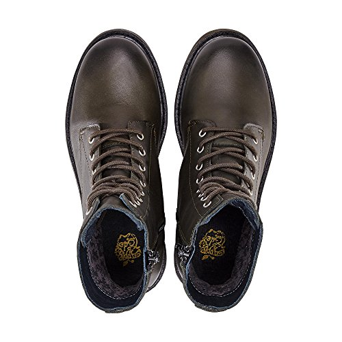 Appel Van Eden Damen Zon Combat Boots Grün (kaki)