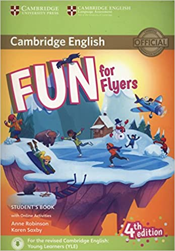 fun for flyers student s book with online activities with audio