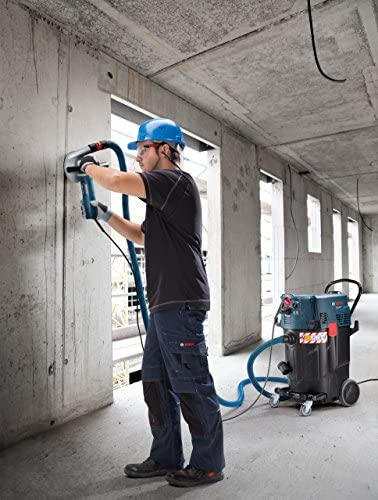 Bosch Gas 55 M AFC - Vacuum Cleaners (Drum, Professional, Hard Floor, Black, Blue, Dry&Wet, Stainless Steel)