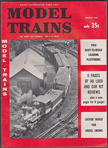 Loading Platform - MODEL TRAINS Loading Platforms; HO Reviews; Diesel Crew Locker House Summer 1958
