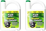 Simple Green 432108 Outdoor Odor Eliminator for Dogs - 1 Gallon (Pack of 2)