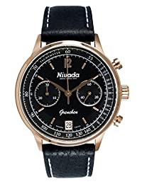 Nivada NP15802MDONI Reloj Análogo para Hombre, Redondo