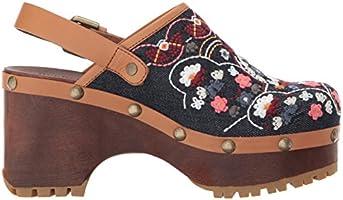 e1bd365f45 See by Chloe Women's Tasha Clog, Denim, 39 M EU (9 US): Amazon.com