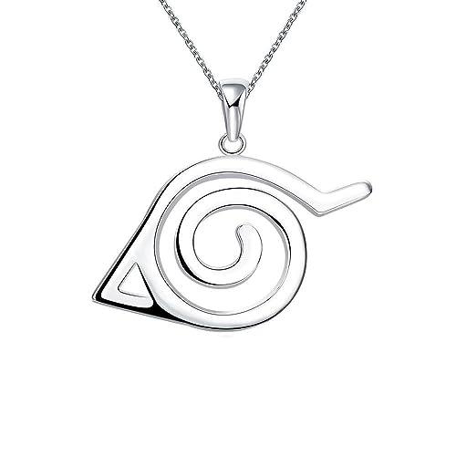 collar de Ninja Símbolo de Cosplay 50 cm: Amazon.es: Joyería