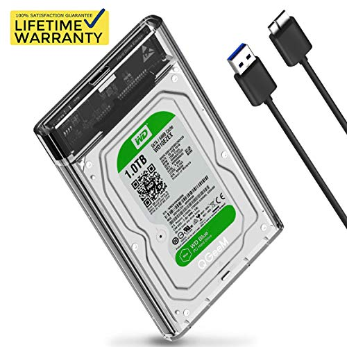 2.5 inch Hard Drive Enclosure QGeeM SATA to USB 3.0 for sale  Delivered anywhere in USA