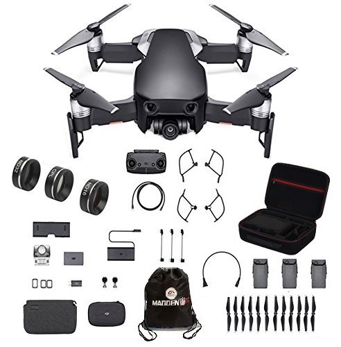 DJI Mavic Air Fly More Combo with Lens filter 3 piece set and Professional Case