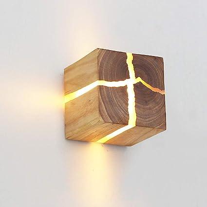 Amazon Com Rishx Rural Log Crack Wall Light Fixture