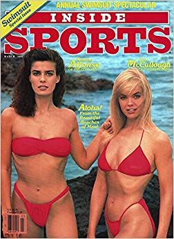 Inside Sports Magazine 9th Annual Swimsuit Issue March