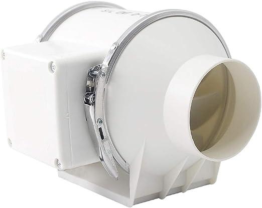 Ventilador Pequeño De Ventilación, De 3 Pulgadas 75mm Extractor De Aire Acondicionado Agujero del Conducto del Ventilador del Ventilador Silencioso ZHAOSHUNLI 923: Amazon.es: Hogar