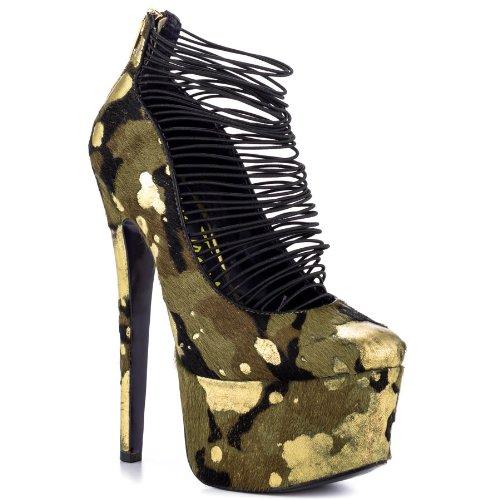 London Trash Women's Ceres Shoe 8.5 Camo
