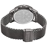 August-Steiner-Mens-Quartz-Stainless-Steel-Casual-Watch-ColorGrey-Model-AS8230GN
