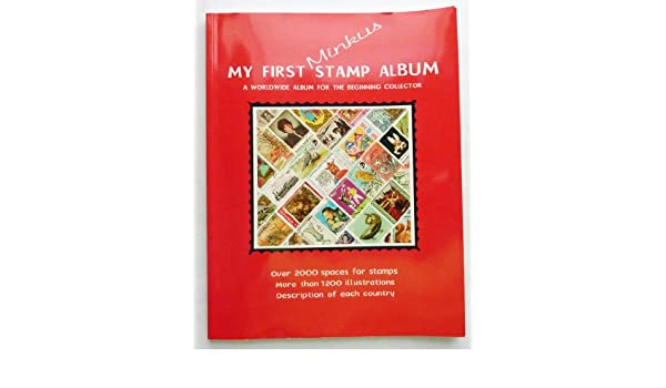 My First Minkus Stamp Album - A Worldwide Album for the