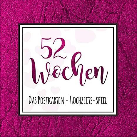 Exklusive - Folie Ros/é 52 Wochen Hochzeits-Spiel
