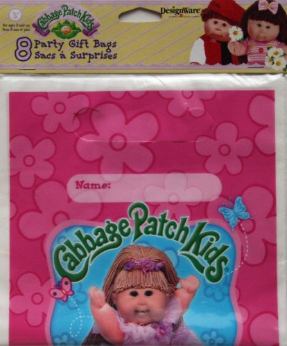 Cabbage Patch Kids - Party Supplies - Loot Bags (8 Count)