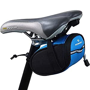 ROSWHEEL Bicycle Bike Cycling Saddle Outdoor Pouch Seat Bag