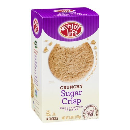 Enjoy Life Handcrafted Cookies Crunchy Sugar Crisp - 14 CT by Enjoy Life Foods