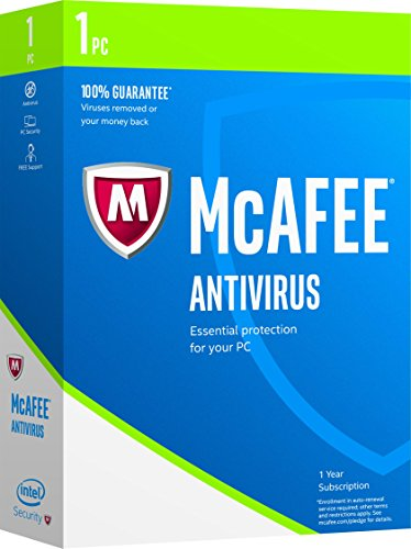 McAfee 2017 AntiVirus -1 PC [Keycode]