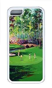 MEIMEIiphone 4/4s Case Golf Art TPU Custom iphone 4/4s Case Cover WhiteMEIMEI