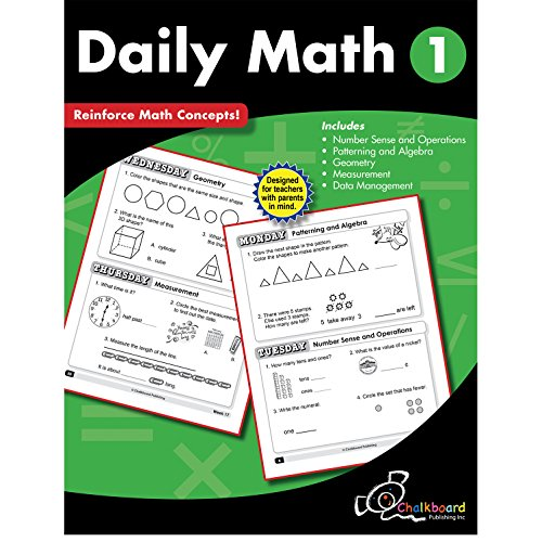 Daily Math Grade 1 (Chalkboard Books)