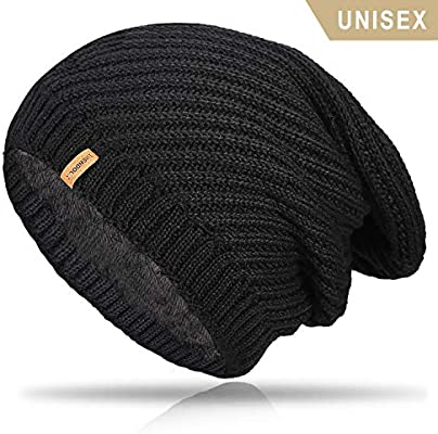5e99489b5b509 Amazon.com  TRENDOUX Winter Hat