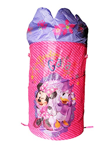 Disney Minnie Mouse Pop Up Hamper Laundry Basket with Dome Lid