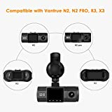 Vantrue N2/N2 Pro R3/X3 Dash Cam Mini USB Port Car Suction Cup Mount with GPS Receiver Module(for Windows and Mac)