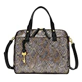 Fossil Satchel, Silver