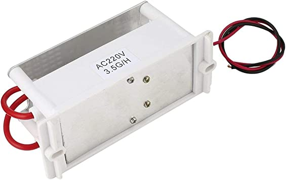 Mini generador de ozono de 220 V, placa de cerámica integrada ...