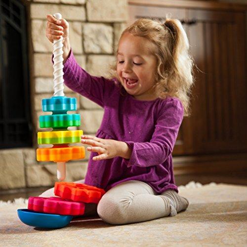 51FzM%2BJoyNL - Fat Brain Toys Kids Spinagain Toy