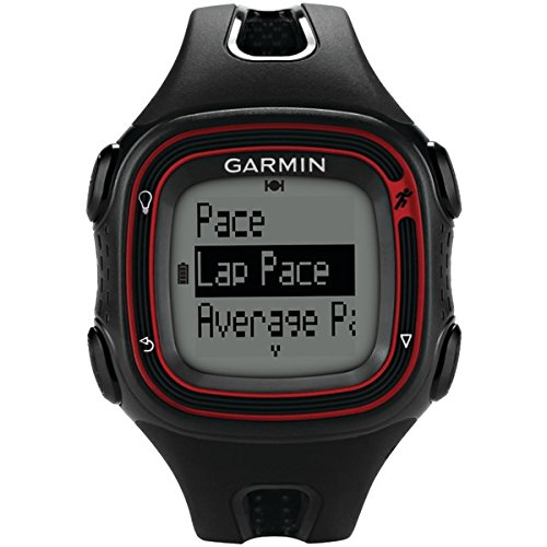 Cheap REFURBISHED GPS Running Watch in Black/Red