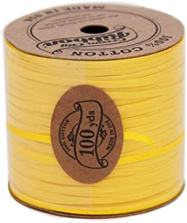 """product image for Eco Flat String - Jonquil Yellow 