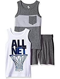 The Children's Place Big Boys' 2 Tank Tops and a Pair of...