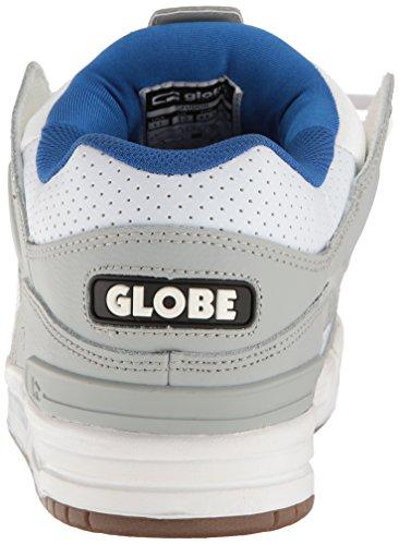 Globe  Fusion,  Herren Sneaker Low-Tops , grau - Grey/Blue/White - Größe: 41 EU (M) UK