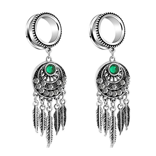 0 gauge plugs dream catcher - 3