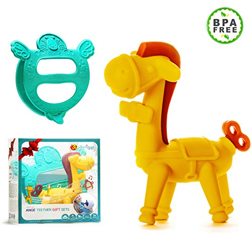 Ange Teething Giraffee Carrier Teether product image