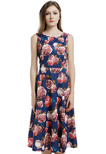 Blooming Jelly Womens Sleeveless Cocktail