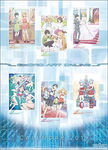 Sword Art Online The Movie Ordinal Scale Calendar Official Anime 2019 [Japan Import] (Best Sword Anime 2019)