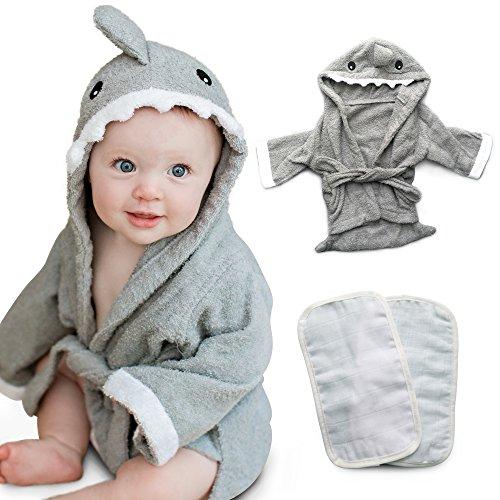 Tulatoo Hooded Shark Towel Washcloth product image