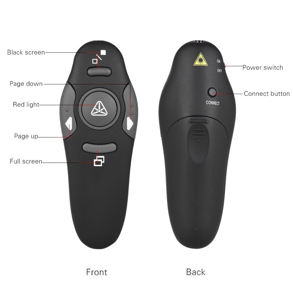 Digimark Wireless Presenter 2.4GHz Remote Presentation USB Controller Power Point PPT Clicker