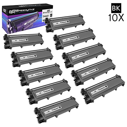 Speedy Inks Compatible Toner Cartridge Replacement for Brother TN660 High-Yield (Black, ()