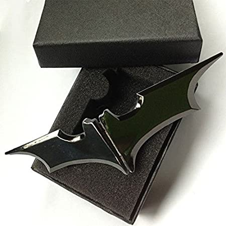Forfar 1Pcs Batman Zincalloy Metal Money Clip Ringgit Dollar Cash Clamp Holder Wallet Gift for Adult Kid Gift