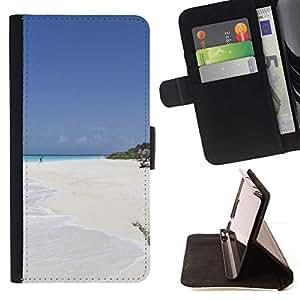 For LG G2 D800 Case , Naturaleza Hermosa Forrest Verde 150- la tarjeta de Crédito Slots PU Funda de cuero Monedero caso cubierta de piel