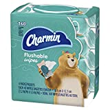 Charmin Flushable Wipes, 160 Count Per Pack