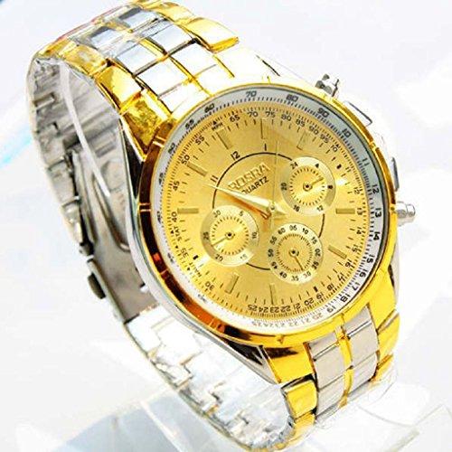 Teresamoon watch, Luxury Men Roman Numerals Watches Wrist Watch Metal Alloy Watch - Regular Unisex Watch